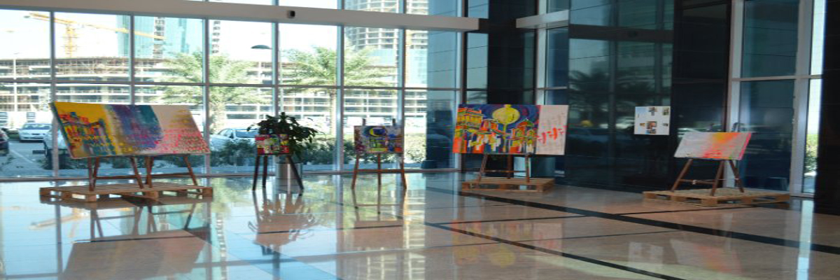 Art at The Harbour East Tower, Thajba Najeeb