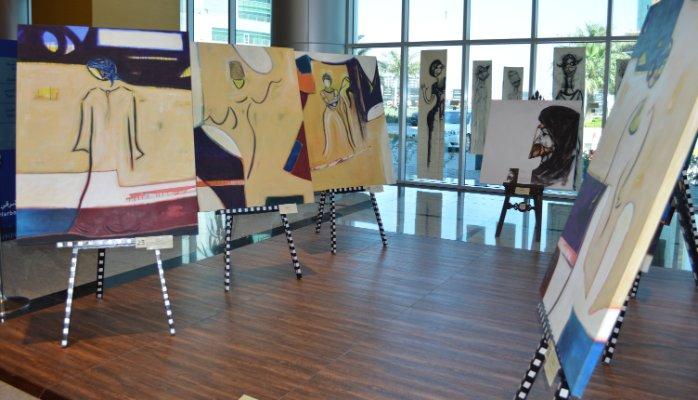 Art At The Harbour East Tower Wedad Al Bakr