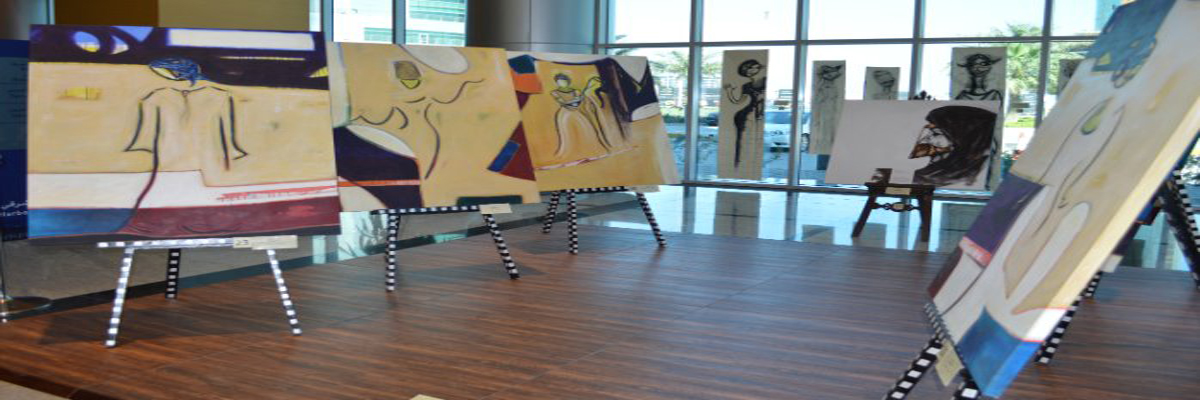 Art At The Harbour East Tower Wedad Al Bakr