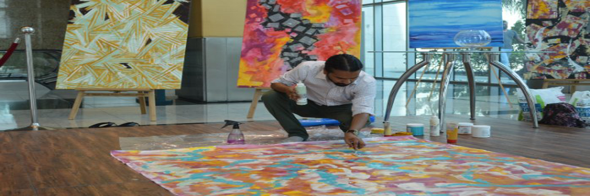 Sudeep Deshpande Art is live at the Harbour