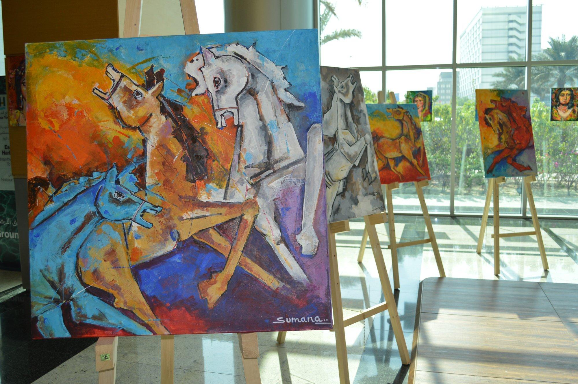 Faces & Horses Exhibition