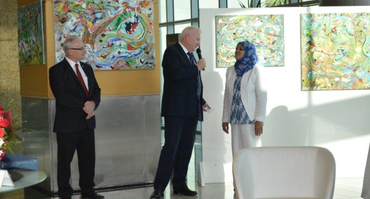 Ameena Alsindi Under The Sea Exhibition