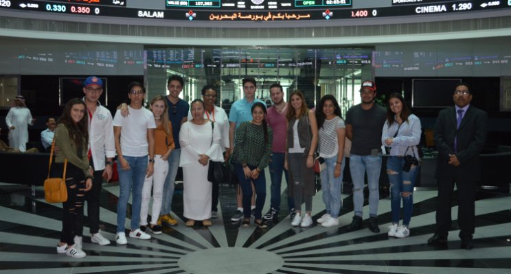 Mexican Students Visit The Harbour Towers